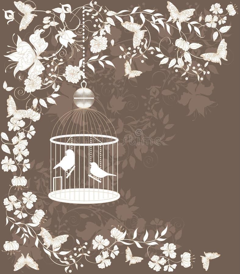 Cage de cru illustration de vecteur
