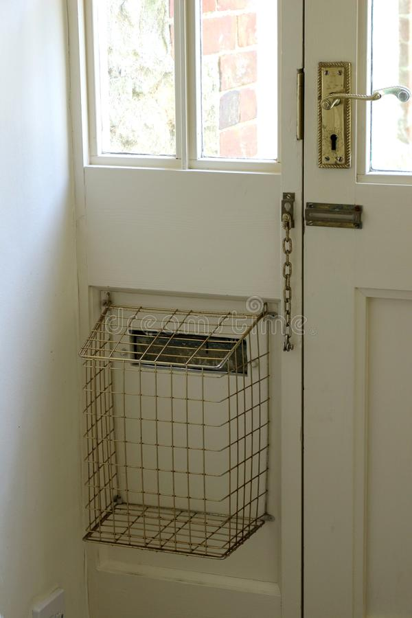 Cage de lettre image libre de droits