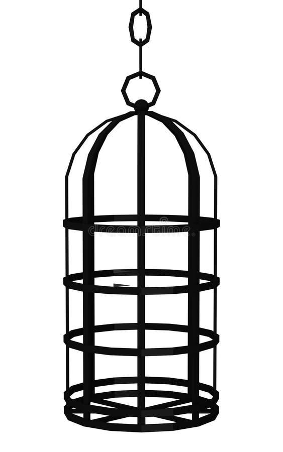 Cage de Tortural illustration de vecteur