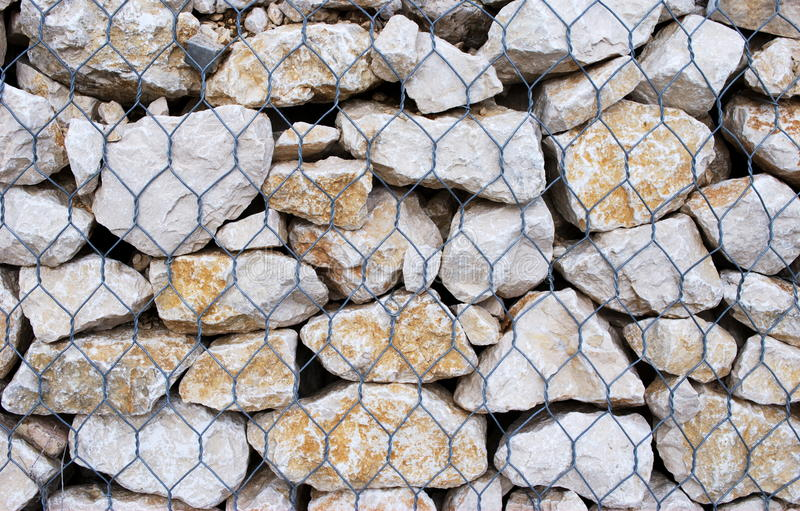 Cage Of Stones Stock Photos