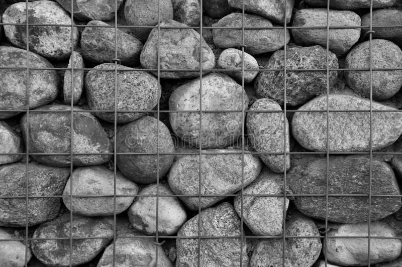 Caged stenar royaltyfria bilder