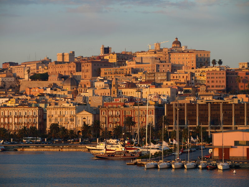 Download Cagliari stock image. Image of locality, building, mediterranean - 3593619
