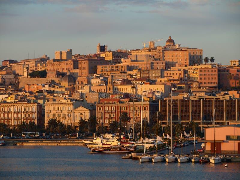 Cagliari royalty-vrije stock afbeeldingen