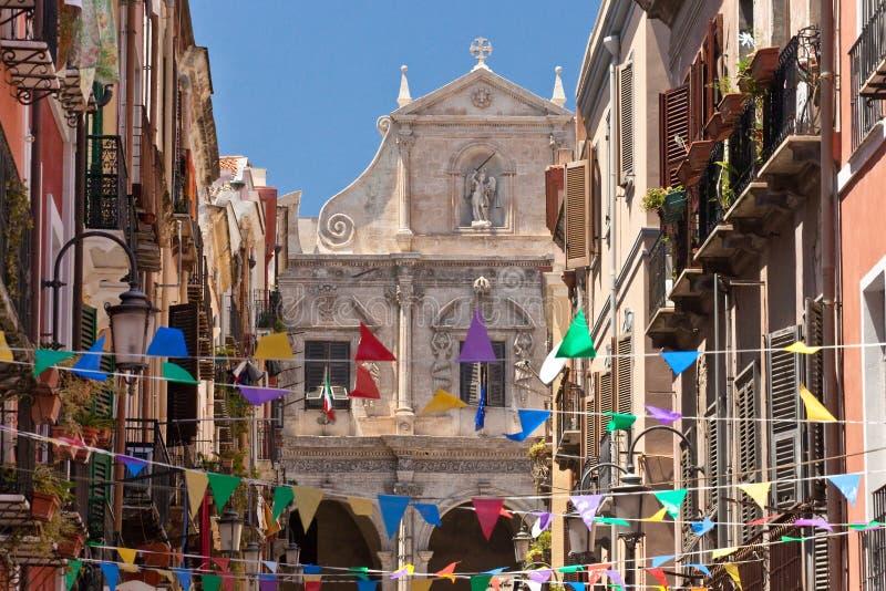 Cagliari royalty-vrije stock fotografie