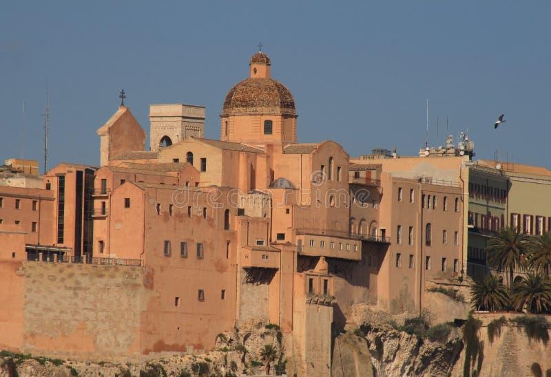 Cagliari foto de archivo