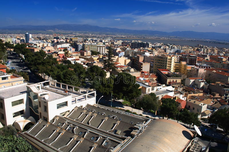 Download Cagliari stock image. Image of tower, travel, area, italy - 9394041