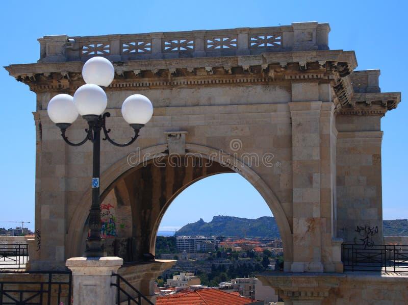 Cagliari, Bastione fotos de archivo libres de regalías