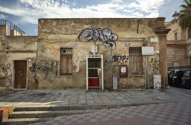 Cagliari dekadent lizenzfreies stockbild