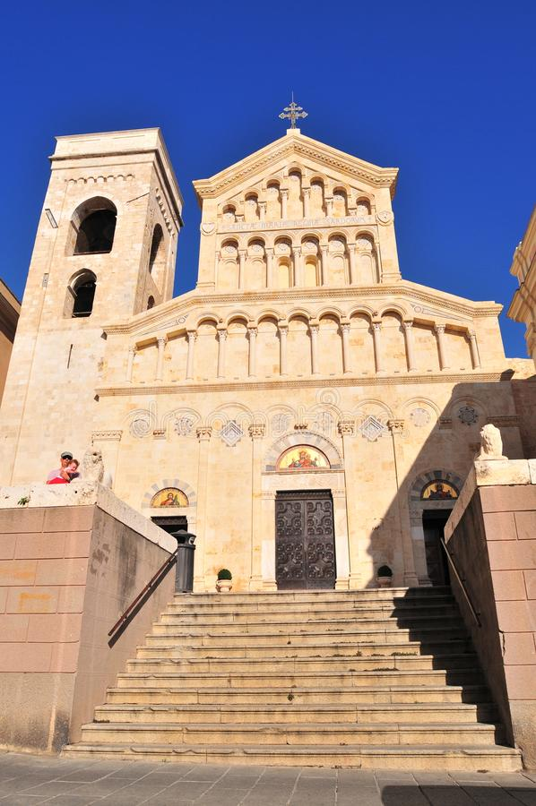 Free Cagliari, Italy, St. Mary Cathedral Stock Image - 159665901