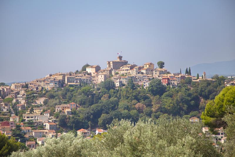 Cagnes-sur-Mer Frankrike fotografering för bildbyråer