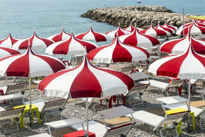 Cagnes-sur-Mer (Kooi d'Azur) stock fotografie