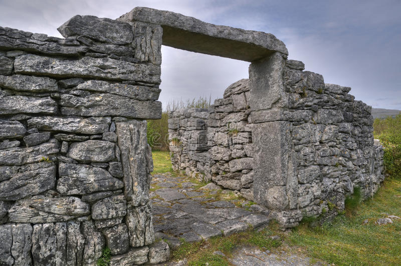 Download Cahermore Stone Fort stock image. Image of preserved - 19710861