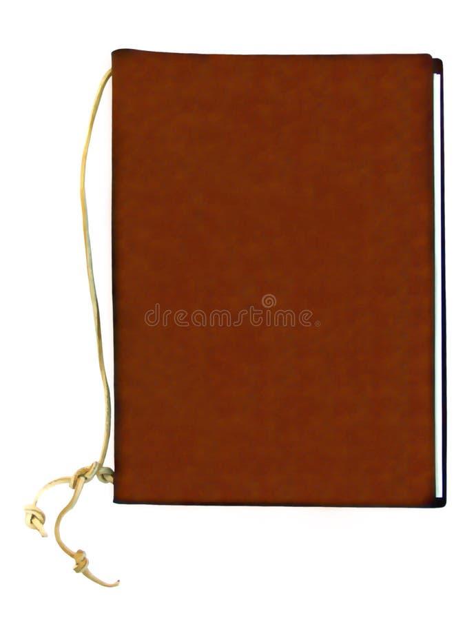 Cahier en cuir photos stock