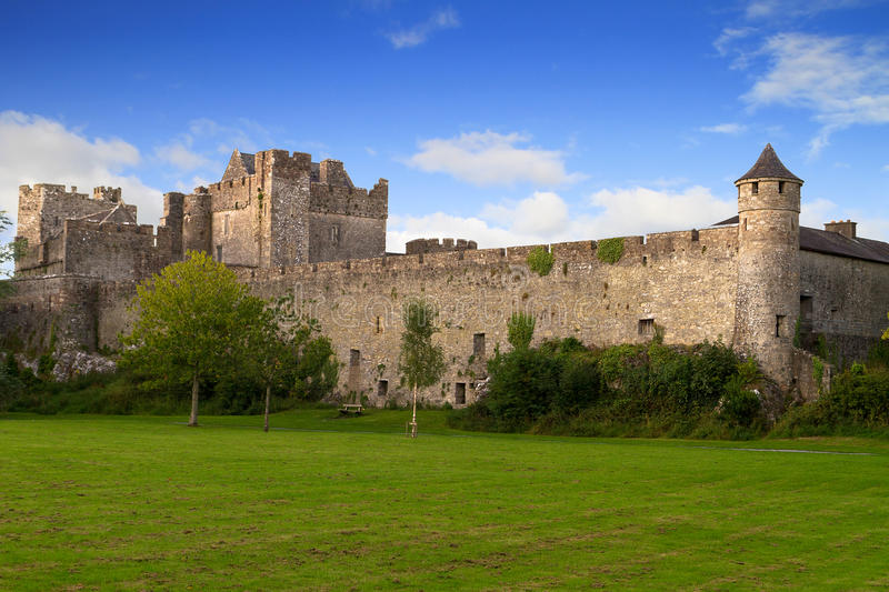 Cahir castle royalty free stock images