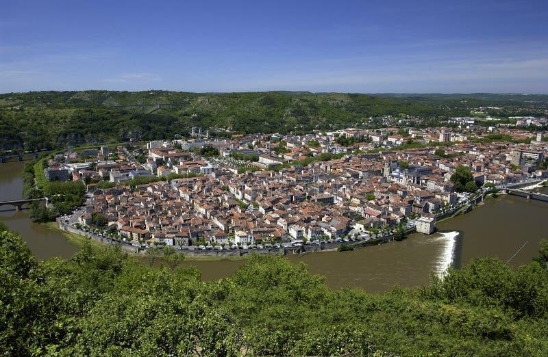 Download Cahors - Lot - France stock image. Image of landscape - 20590707