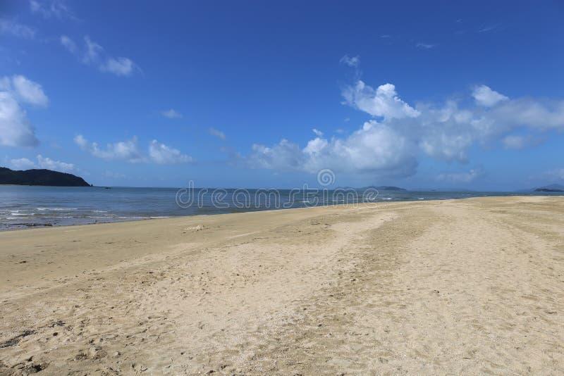 Cai Chien海岛在广宁省,越南 库存照片
