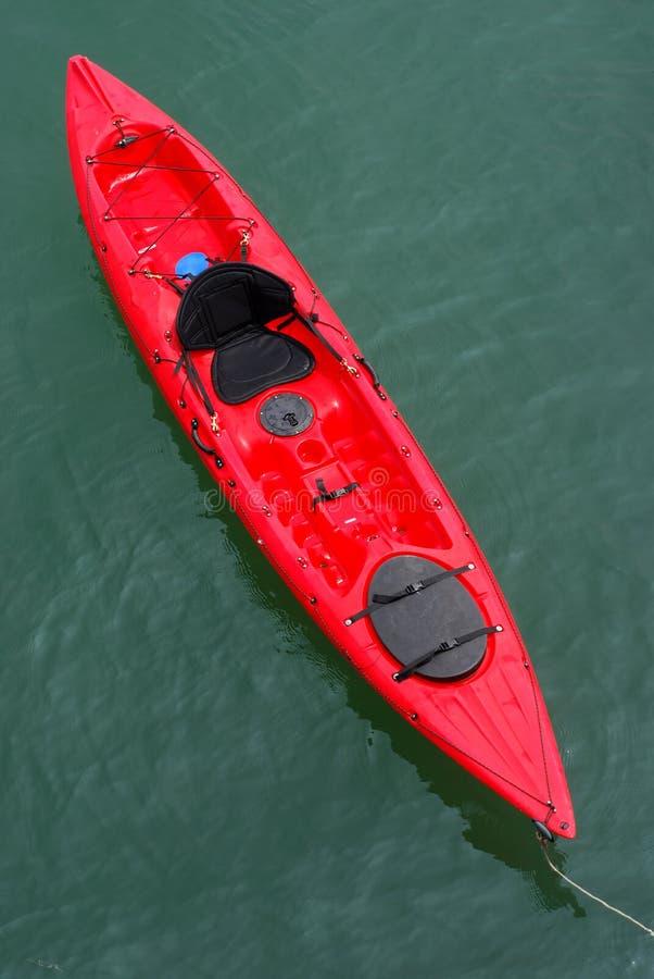 Caiaque do Mar Vermelho imagem de stock
