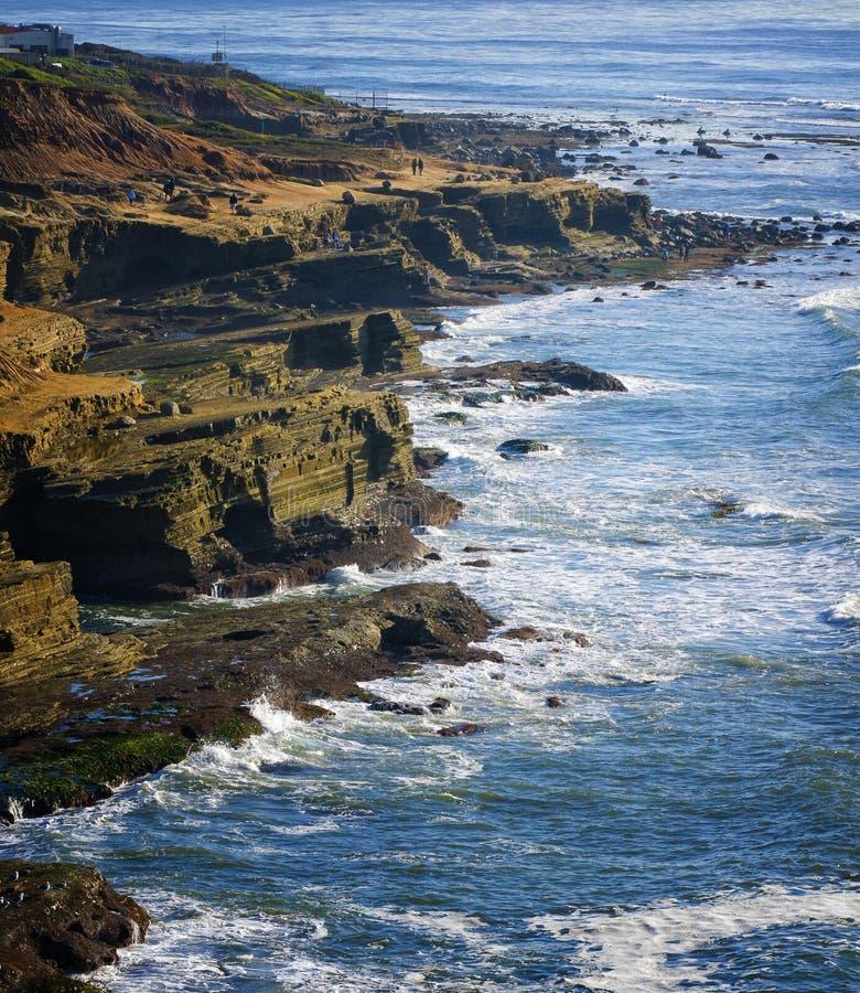 caifornia California brzegowy Diego San zdjęcia royalty free