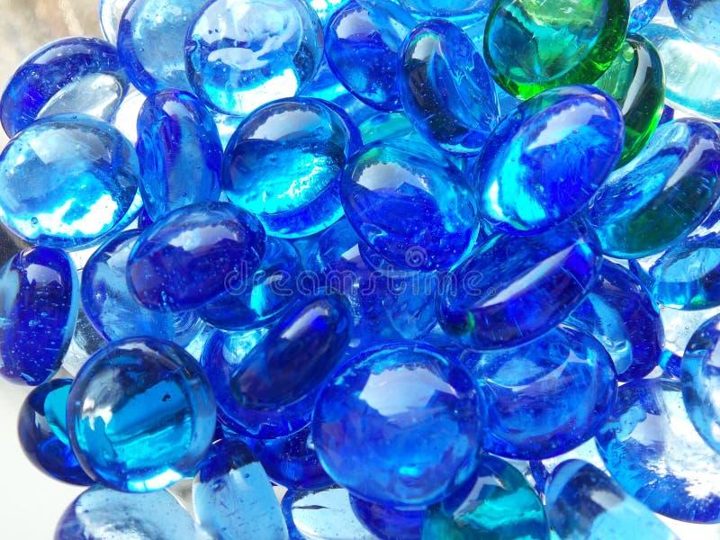Cailloux bleus photo stock
