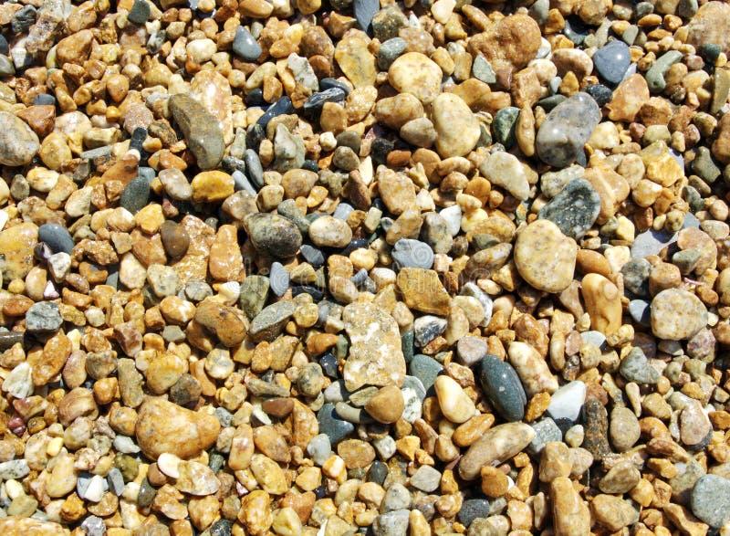 Cailloux colorés de mer. photographie stock