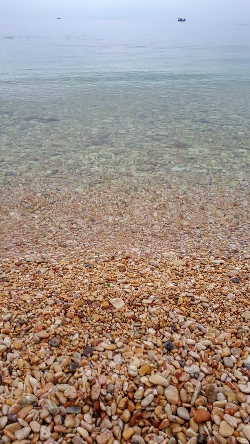 Cailloux de mer photo stock