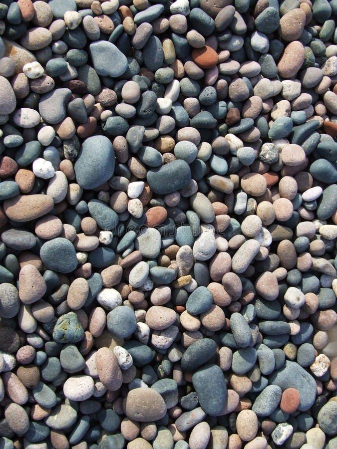 Cailloux de plage photo libre de droits