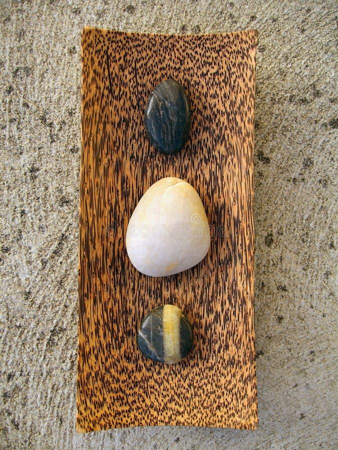 Cailloux de zen photo libre de droits