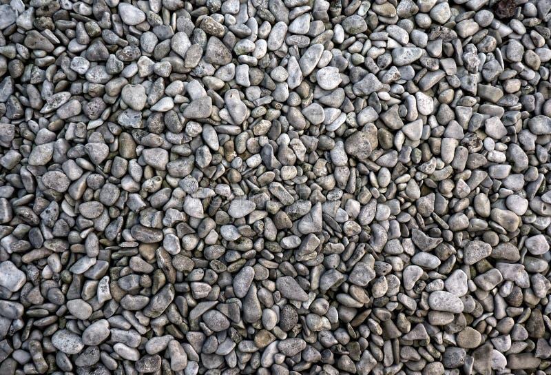 Cailloux gris photographie stock