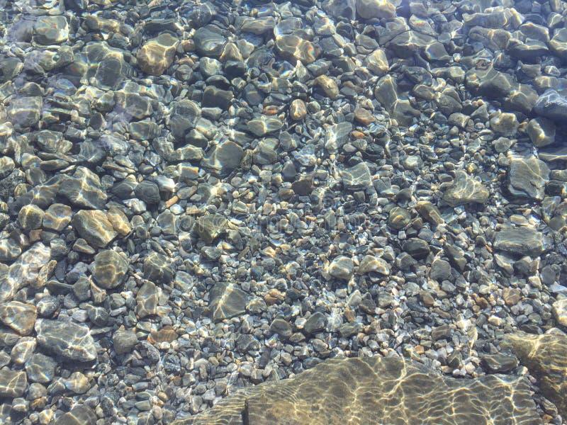 Cailloux - lac Pangong images stock