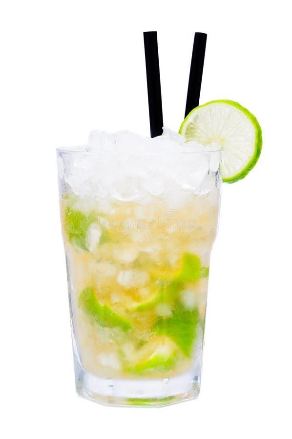 Caipirinha cocktail drink royalty free stock photography