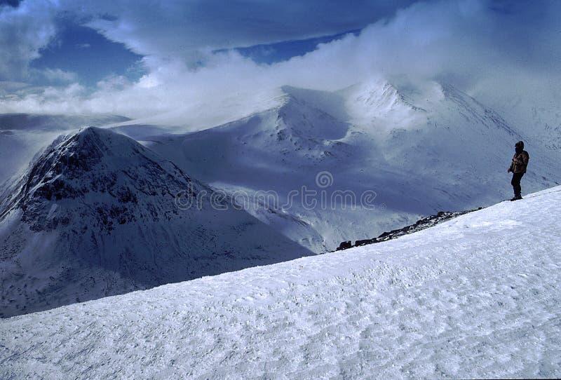 cairngorm山苏格兰 免版税库存图片