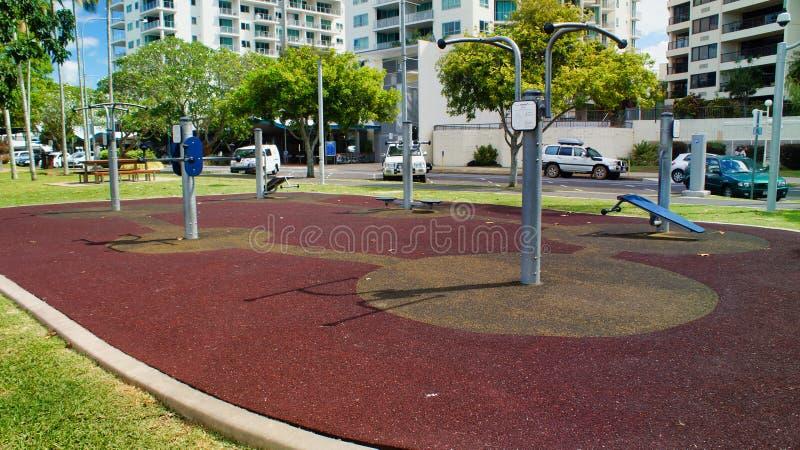 Cairns, Australien, Stadt, GYM, lizenzfreies stockfoto