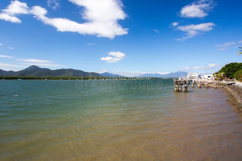 Cairns Waterfront lizenzfreie stockbilder