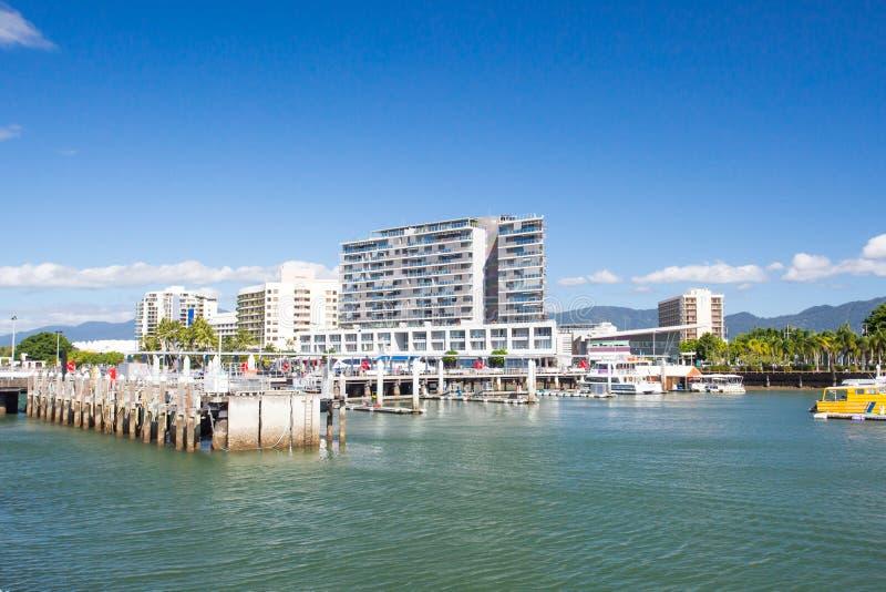 Cairns Waterfront stockfotos