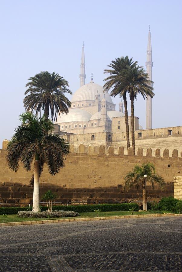 cairo citadel arkivbild