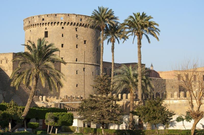 cairo citadelegypt saladin royaltyfria foton