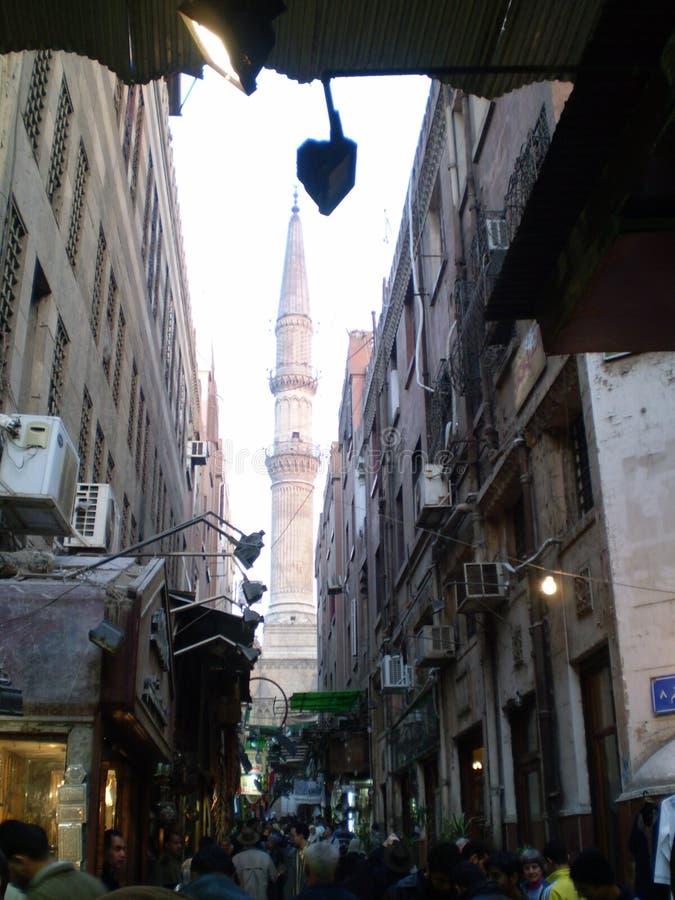 _Cairo del bazar de Al-Hussein fotos de archivo