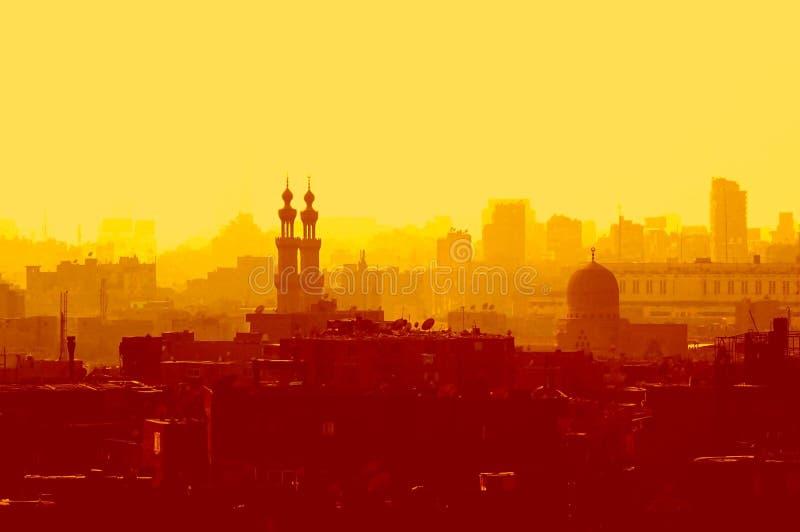 cairo egypt islamisk gammal fjärdedel royaltyfri foto