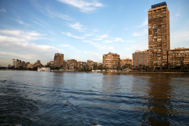 cairo historisk nile flod royaltyfria bilder