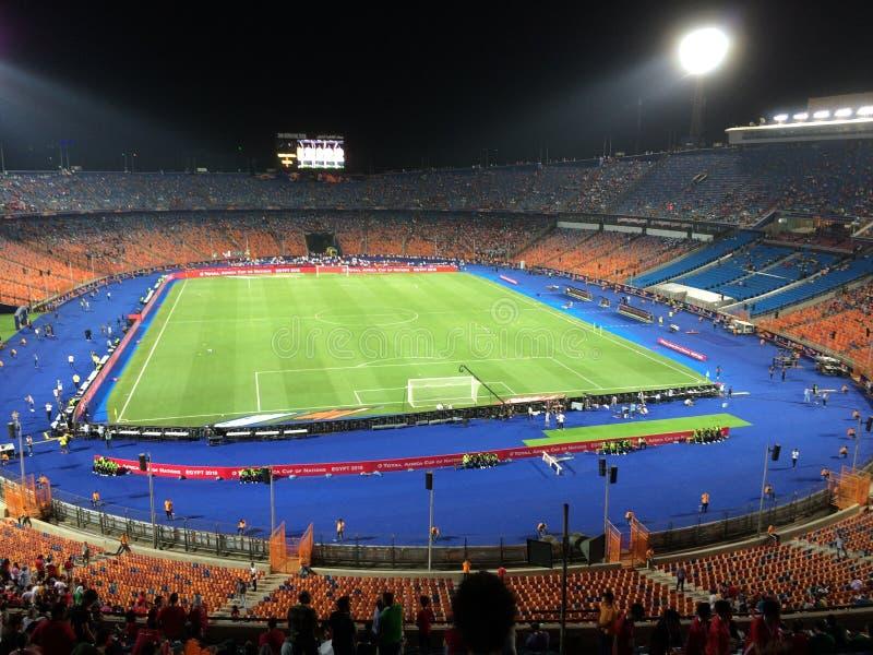 Cairo International Stadium foto de archivo libre de regalías