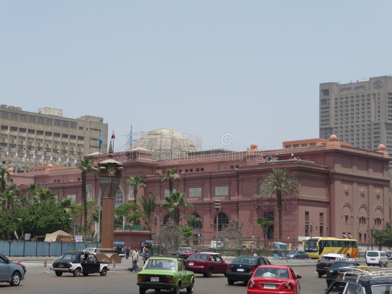 Download Cairo Museum editorial stock photo. Image of museum, street - 37974033