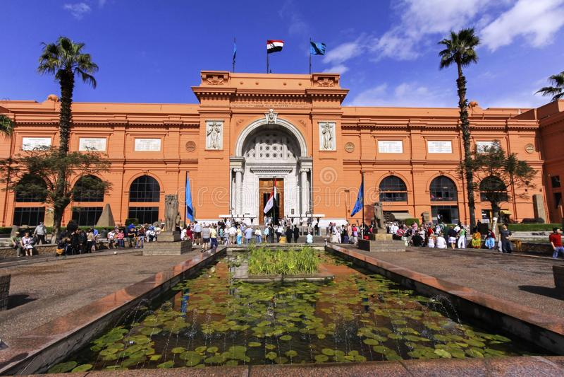 cairo muzeum egiptu zdjęcia royalty free
