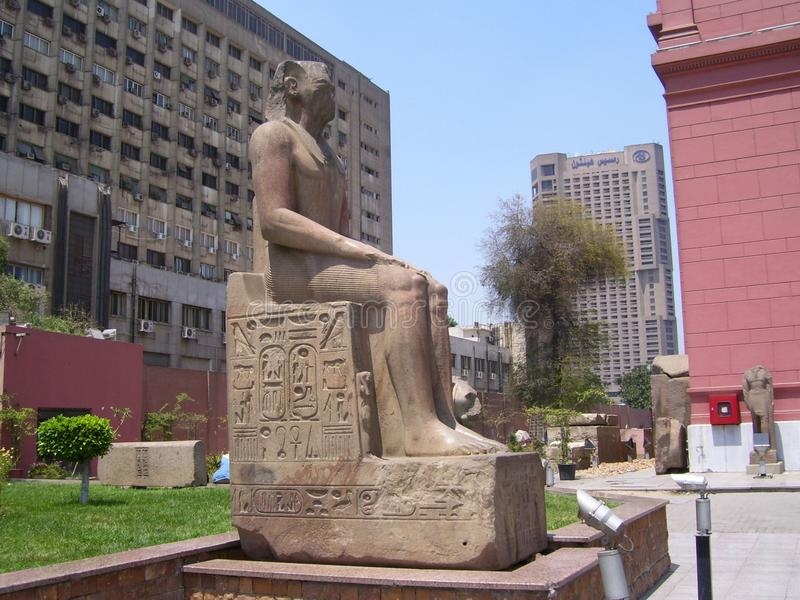 cairo muzeum s fotografia stock