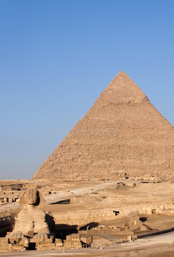 cairo ostrosłupy Egypt Giza fotografia royalty free