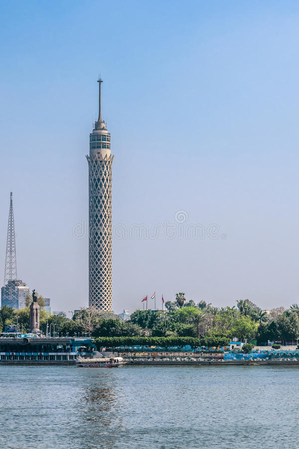Cairo Tower stock images
