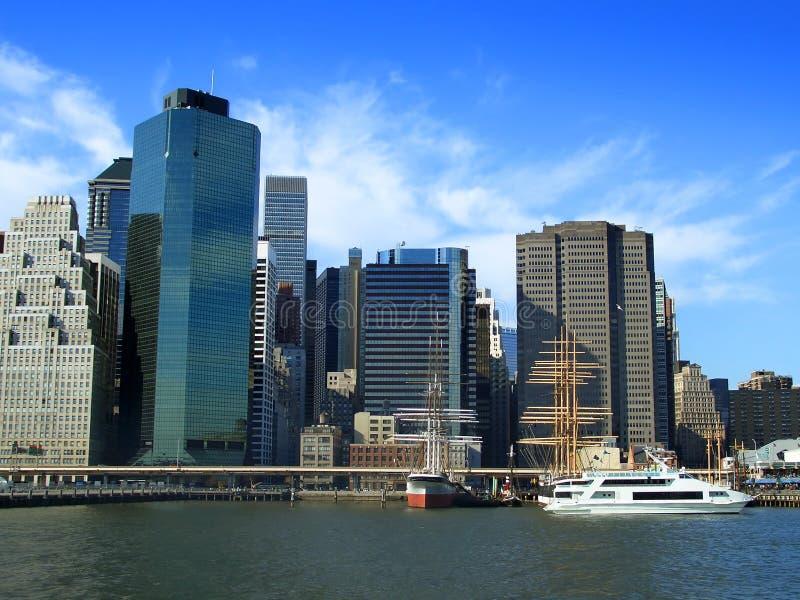 Cais 17, Manhattan, New York fotos de stock royalty free