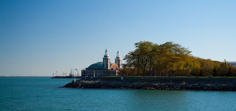 Cais da marinha, Chicago fotos de stock