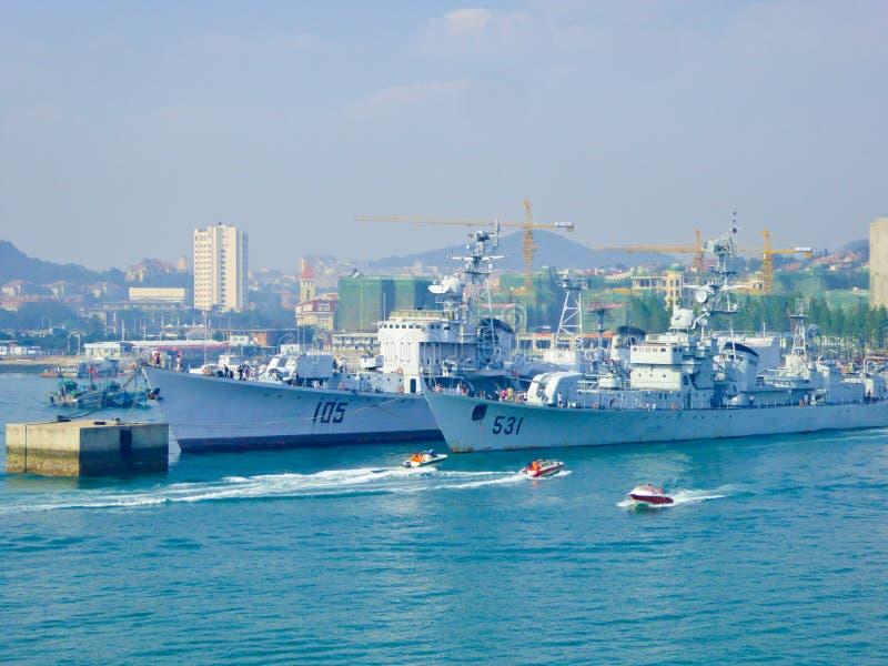 Cais de Qingdao imagem de stock royalty free