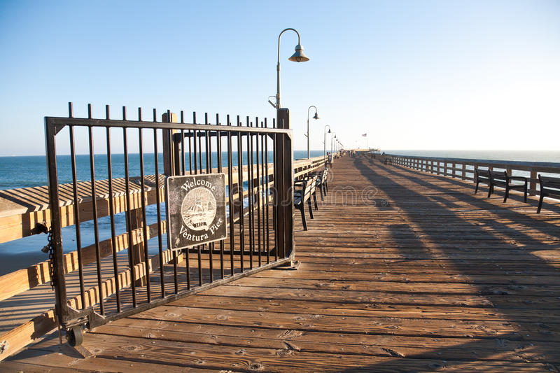 Cais de Ventura imagens de stock