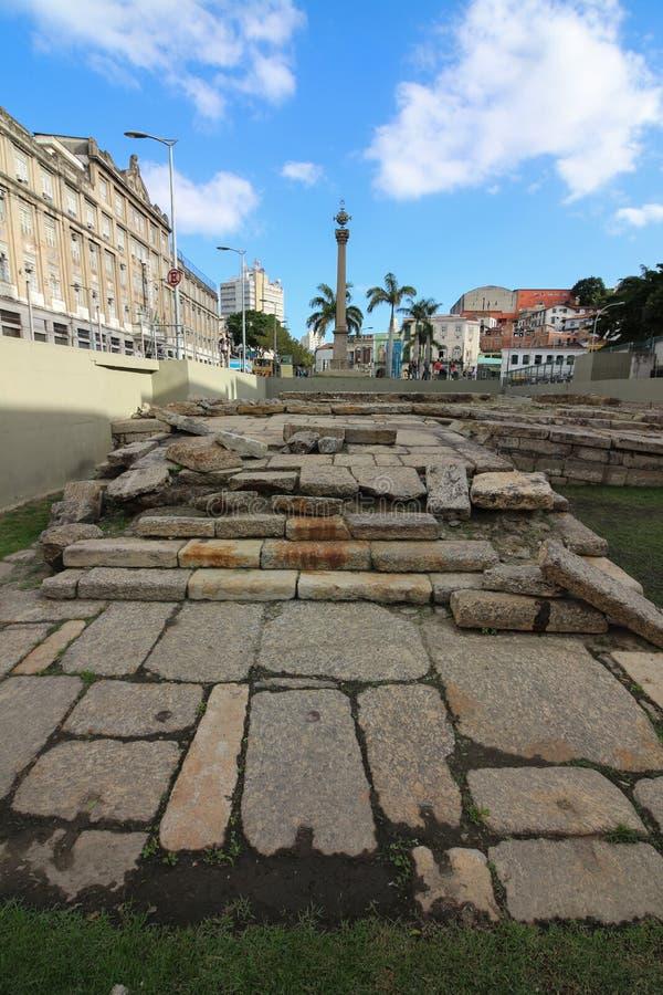 Free Cais Do Valongo - Historic World Heritage Site Stock Images - 97041434